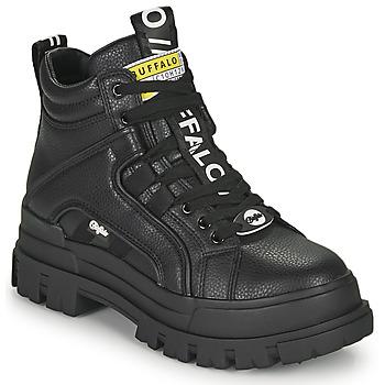 Boty Ženy Kotníkové boty Buffalo ASPHA NC MID Černá