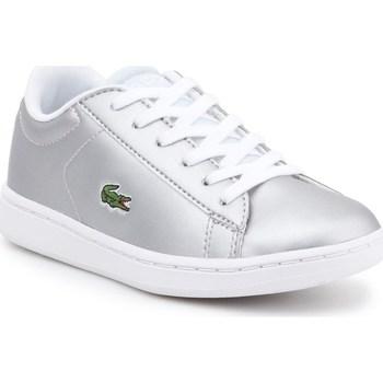 Boty Děti Nízké tenisky Lacoste 734SPC0006334 Stříbrné