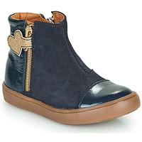 Boty Dívčí Kotníkové boty GBB OKITA Modrá