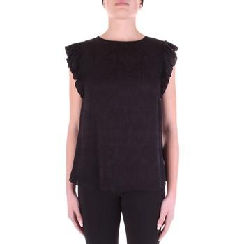 Textil Ženy Halenky / Blůzy Versace B0HWA631-09475 Černá