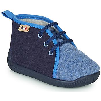 Boty Děti Papuče GBB APOLOCHON Modrá