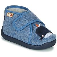 Boty Dívčí Papuče GBB APOCHOU Modrá