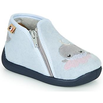 Boty Dívčí Papuče GBB APOPOTAM Modrá