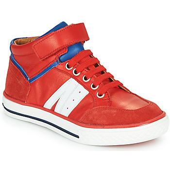 Boty Chlapecké Kotníkové tenisky GBB ALIMO Červená