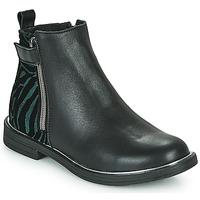 Boty Dívčí Kotníkové boty GBB XIANA Černá