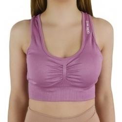 Textil Ženy Sportovní podprsenky Gymhero Miami Cute Bra fialová