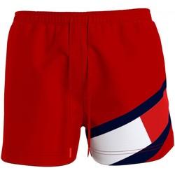 Textil Muži Plavky / Kraťasy Tommy Hilfiger UM0UM02048 Červená