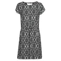 Textil Ženy Krátké šaty Only ONLNOVA Bílá / Černá
