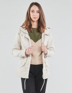 Textil Ženy Parky Only ONLLORCA Krémově bílá