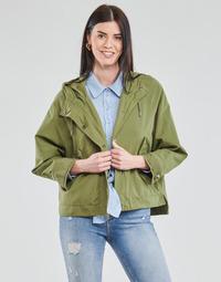 Textil Ženy Parky Only ONLELLA Khaki