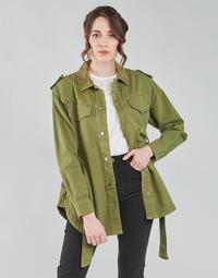 Textil Ženy Saka / Blejzry Only ONLNORA Khaki