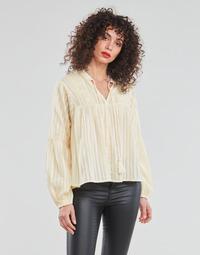 Textil Ženy Halenky / Blůzy Only ONLNEW ELISA Béžová