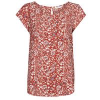 Textil Ženy Halenky / Blůzy Only ONLNOVA Červená