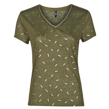 Textil Ženy Halenky / Blůzy Only ONLSTEPHANIA Khaki