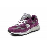 Boty Nízké tenisky New Balance 992 Purple Grey Purple / Grey