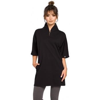 Textil Ženy Tuniky Be B043 Kimono tunika - černá