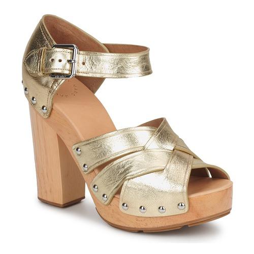 Boty Ženy Sandály Marc by Marc Jacobs VENTA Zlatá