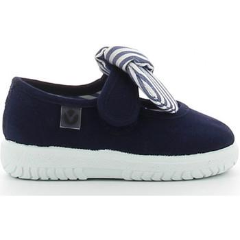 Victoria Baleríny Dětské 105110 - Modrá