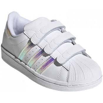 Boty Děti Nízké tenisky adidas Originals Superstar cf c Bílá