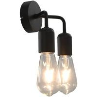 Bydlení Nástěnná světla VidaXL Stojací lampa Noir