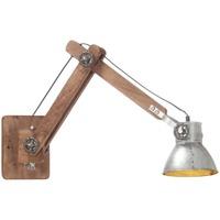 Bydlení Nástěnná světla VidaXL Nástěnná lampa Argent