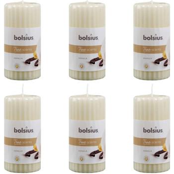 Bydlení Svíčky, difuséry Bolsius Svíčka Crème