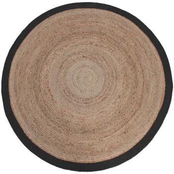 Bydlení Koberce Label51 Koberec Φ 150 cm Noir