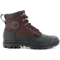 Boty Muži Kotníkové boty Palladium Manufacture Pampa Sport Cuff WP 20 Hnědé