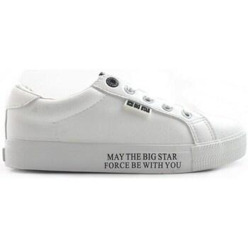 Boty Ženy Nízké tenisky Big Star EE274316 Bílé