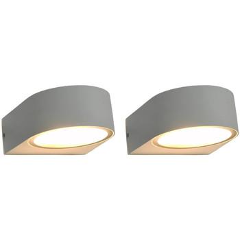 Bydlení Nástěnná světla VidaXL Venkovní osvětlení Blanc