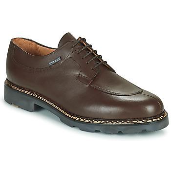 Boty Muži Šněrovací polobotky  & Šněrovací společenská obuv Pellet Montario Hnědá