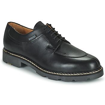 Boty Muži Šněrovací polobotky  & Šněrovací společenská obuv Pellet Montario Černá