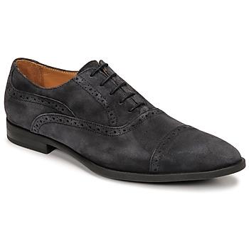 Boty Muži Šněrovací polobotky  & Šněrovací společenská obuv Pellet ALEX Modrá