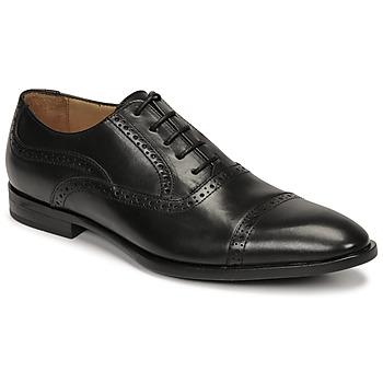 Boty Muži Šněrovací polobotky  & Šněrovací společenská obuv Pellet ALEX Černá