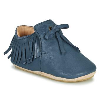 Boty Děti Papuče Easy Peasy MEXIBLU Modrá
