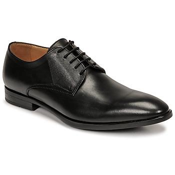 Boty Muži Šněrovací polobotky  & Šněrovací společenská obuv Pellet Alibi Černá