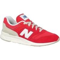 Boty Děti Nízké tenisky New Balance 997 Bílé, Červené