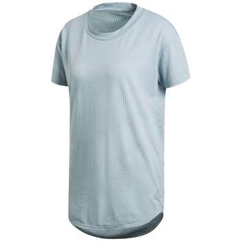 Textil Ženy Trička s krátkým rukávem adidas Originals CF2663 Modrý