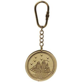 Bydlení Sošky a figurky Signes Grimalt Kalendář Keychain. Dorado