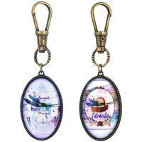 Bydlení Sošky a figurky Signes Grimalt Klíčovým Lavender 2.Září U Multicolor