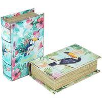 Bydlení Kufry, úložné boxy Signes Grimalt Papírová Krabice 2. Září Units Multicolor
