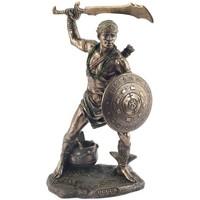Bydlení Sošky a figurky Signes Grimalt Oggun --- Plateado