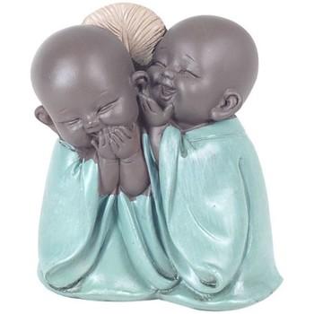 Bydlení Sošky a figurky Signes Grimalt Obrázek Buddhas. Verde