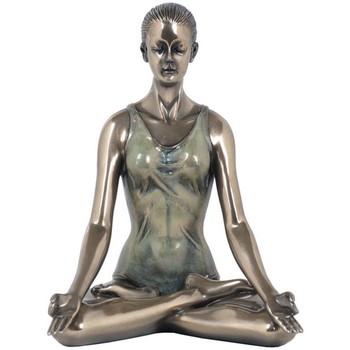 Bydlení Sošky a figurky Signes Grimalt Yoga-Lotus Pose Marrón