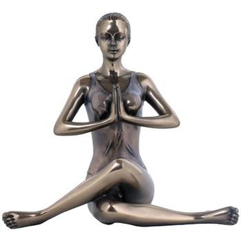 Bydlení Sošky a figurky Signes Grimalt Kráva Pose Yoga- Dorado