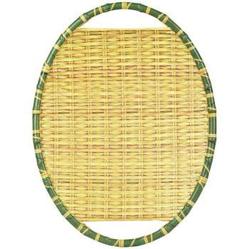 Levně Signes Grimalt Tácy a misky Bamboo Tray Melamin Žlutá