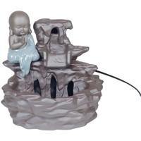 Bydlení Sošky a figurky Signes Grimalt Zdroj Buddha Keramika Gris