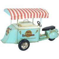 Bydlení Sošky a figurky Signes Grimalt Ice Cream Tříkolka Verde