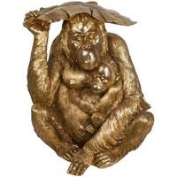 Bydlení Sošky a figurky Signes Grimalt Orangutan Dorado Dorado
