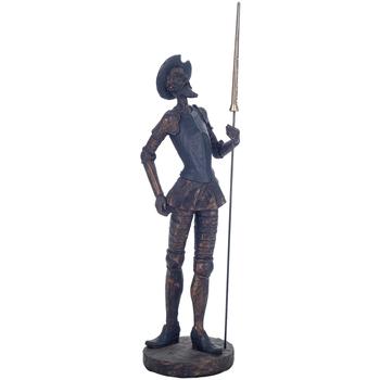 Bydlení Sošky a figurky Signes Grimalt Don Quijote De Pie Dorado